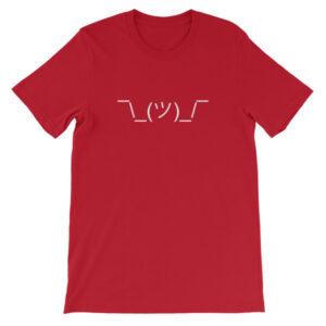Shrug Emoji T-Shirt