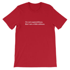 I'm not superstitious, But I am a little stitious T-Shirt